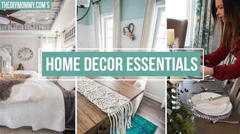 5 Home Decor Essentials You Need The Diy Mommy | 5 home decor essentials you need the diy mommy youtube