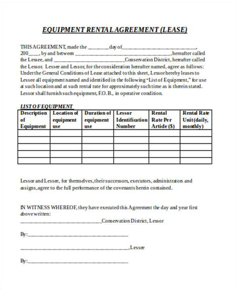 sle purchase agreement forms