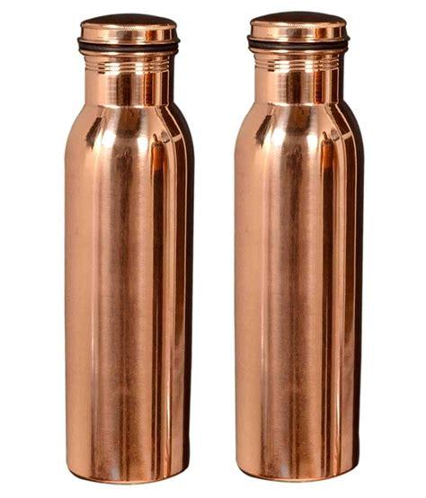 100 Copper Bottle by 100 Copper Water Bottle 950 Ml For Health
