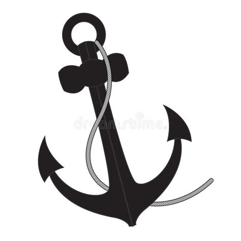 anchor vector illustration royalty free stock photography