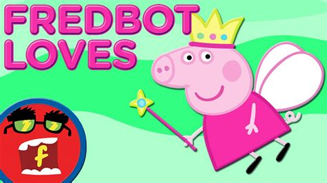 peppa pig top 25 things fredbot loves youtube
