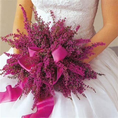 fiori di erica 10 bouquet per la sposa in autunno