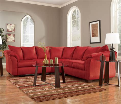 ashley darcy sectional signature design by ashley darcy salsa contemporary