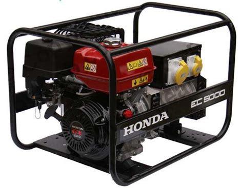 honda ec5000 lpg dual fuel 5kw generator honda engines