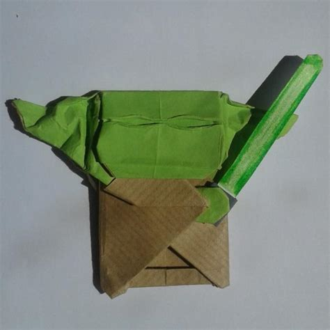 How To Fold Origami Yoda - cover yoda origami yoda