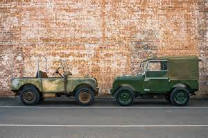 land rover series 1 perfectly restored by land rover