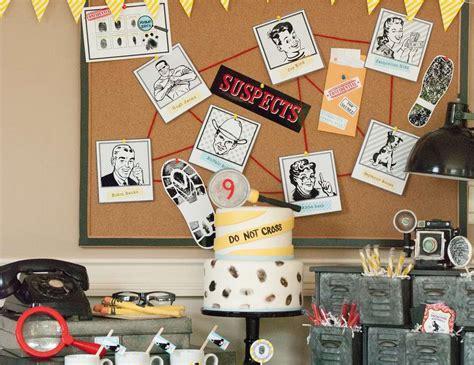 secret clue ideas detective birthday quot a vintage detective quot catch
