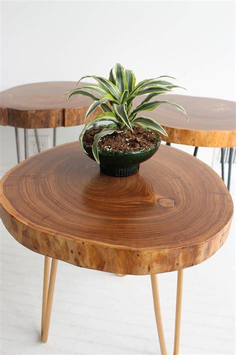 elm live edge table siberian elm live edge end table called to create