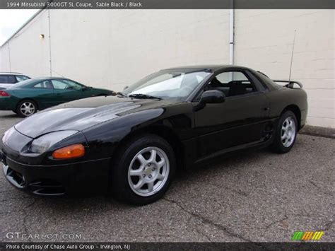 1994 Mitsubishi 3000GT SL Coupe in Sable Black Photo No