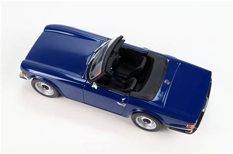 Collectible Ls by Ls Collectibles Triumph Tr6 1 18 Blue Ls002b