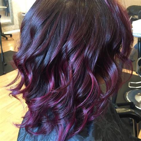 crushed blackberry hair colour beautyhair stylecolour