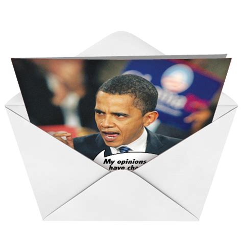 Obama Birthday Card by Obama Mind Unique Greeting Card