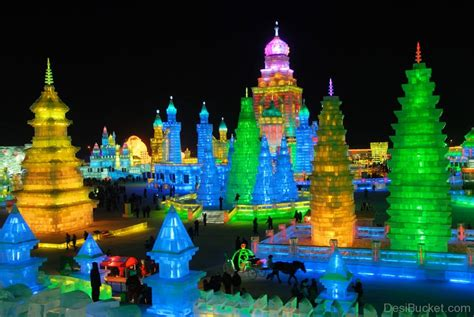 harbin ice festival harbin festival china pictures images photos