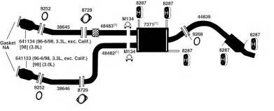 Nissan Maxima Exhaust System Diagram 2000 Nissan Maxima Exhaust System Pictures To Pin On
