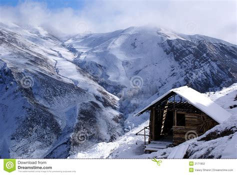house mountain small house in mountain stock photography image 2171852
