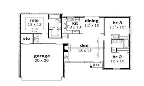 simple three bedroom house plan simple small house floor plans 3 bedroom simple small
