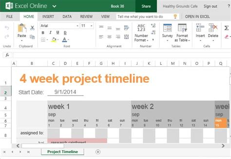Free Project Timeline Template For Excel Project Timeline Template Excel