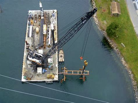 boating accident cape cod canal tidal power test site installed in cape cod canal new