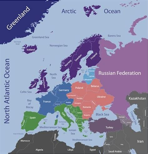 map northern europe scandinavia geography where is map