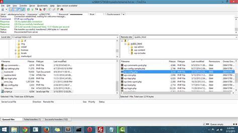 tutorial upload wordpress ke hosting cara upload wordpress ke hosting programmer goblog