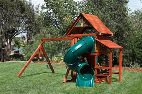 inexpensive wooden swing sets backyard wooden swing sets in colorado at discount
