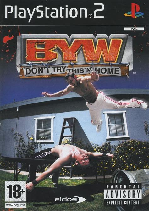 backyard wrestling ps3 byw don t try this at home sur jeuxvideo com