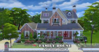 The sims 4 request family house homeless sims
