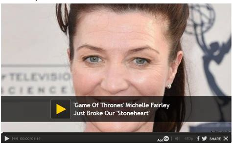 michelle fairley laugh game of thrones beauty of planet earth