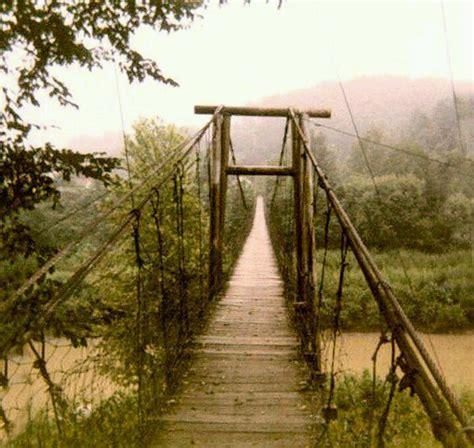 swinging bridge va swinging bridge virginia pinterest