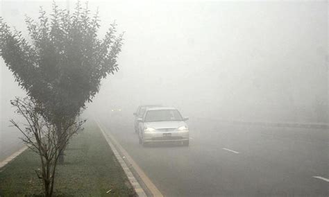 Foggy and cold weather in Pakistan breaks past records [pictures]
