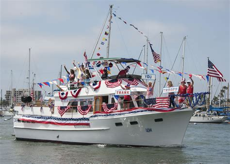 newport beach boat parade fourth of july newport beach local news fourth of july in newport harbor