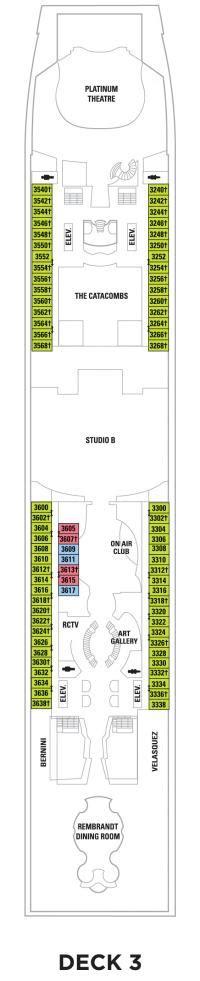 Royal Caribbean Liberty Of The Seas Deck Plan by Deck 3 Liberty Of The Seas Deck Plans Royal Caribbean