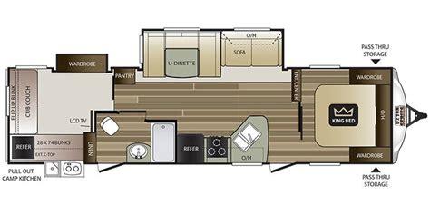 keystone cougar travel trailer floor plans gurus floor specs for 2018 keystone cougar half ton rvs rvusa com