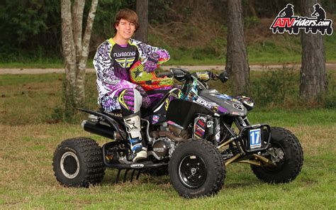Ama Pro Atv Motocross Racer Jon Venjohn Honda 450r Atv