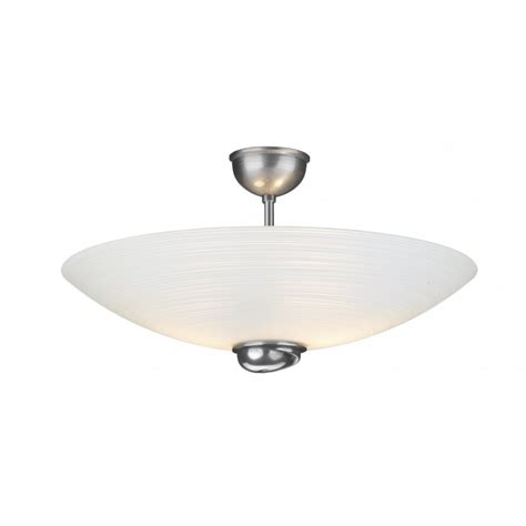 Glass Ceiling Lighting Swirl Pewter Glass Ceiling Uplighter For Low Ceilings