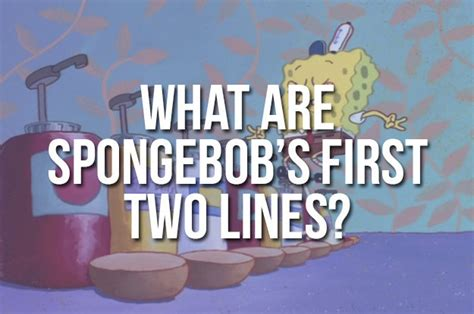 boat horn spongebob find out how well you remember the first episode of