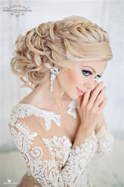 Braided Wedding Hairstyle Bridal Updo by Top 25 Stylish Bridal Wedding Hairstyles For Hair