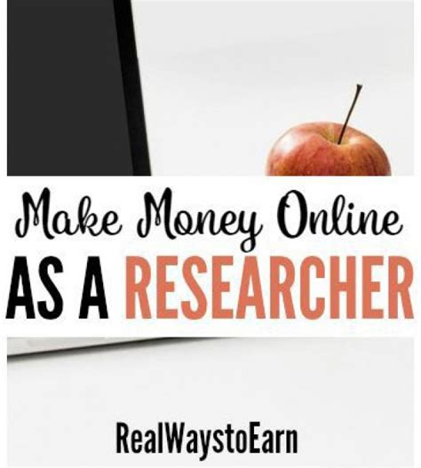 Make Money Doing Research Online - how to make money online doing research