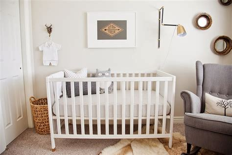 How To Decorate A Nursery Affordable Nursery Decorating Ideas Popsugar Home