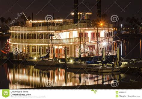 paddle boat san diego riverboat in mission bay san diego stock photo image