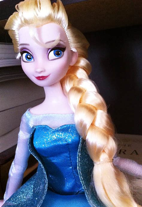 Elsa Hair Style Doll by Elsa Disney S Frozen Pixie Collections