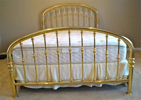 charles p rogers beds charles p rogers queen size brass rainbow bed with mattress ebth