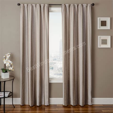 stripe curtain panel azure stripe curtain panel available in 6 color choices