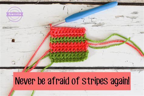 crochet how to change colors magic crochet color change sewrella