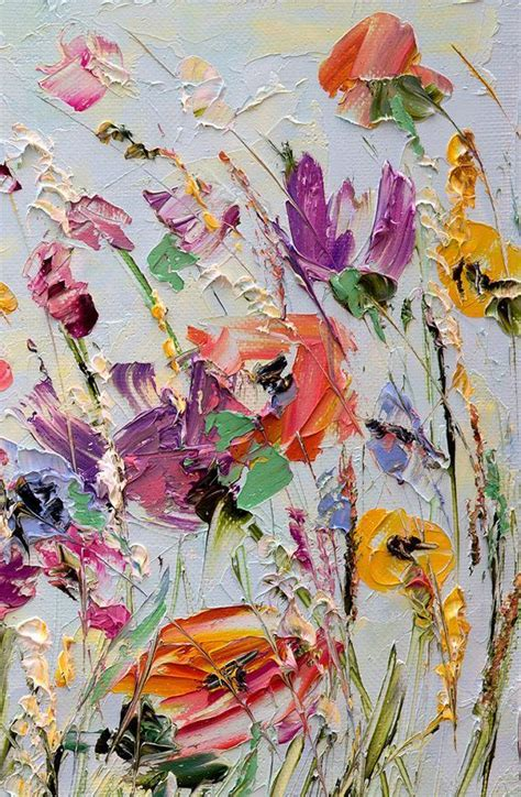 make flower painting best 25 abstract flowers ideas on