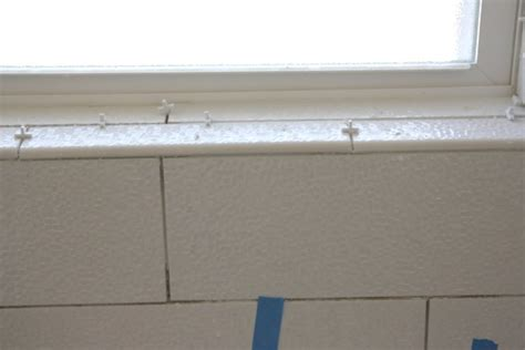 Window Sill Bullnose House Tweaking