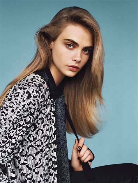 Cara Model cara delevingne for vogue uk january 2014 ℰllie