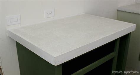 white concrete countertop concrete countertop tutorial johnmilisenda
