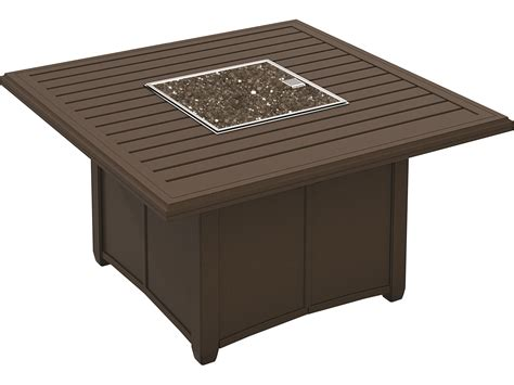 tropitone banchetto aluminum pit table 401158fp