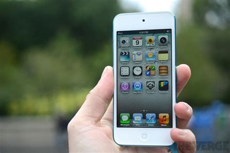Apple Ipod Touch 2012 apple ipod touch review 2012 the verge